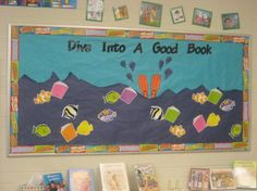 School Library Bulletin Board Ideas | Welcome to the St. Joseph Library!