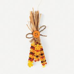 Indian Corn Magnet Craft Kit - OrientalTrading.com