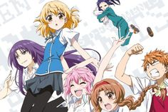 D-Frag!: The Complete Series (Blu-ray) Review: Is D-Frag! One of the Funniest Anime Out Now?: D-Frag! DVD and Blu-ray Coverart!