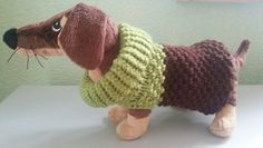 Custom order  ~  Hand knitted Dog Sweater ~ Puppy sweater ~ Cute & Cozy little dog sweater ~ neon small dog sweater