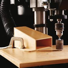 Drill-Press Dust Collector