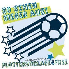 Schlaaand! 4 Sterne für die Nationalmannschaft und alle Fans // Plottervorlage4free | enemenemeins | Bloglovin'