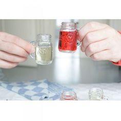 Mason Jar Shots 4 vasos de 30 ml. $10.990