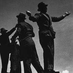 by Bill Brandt Tic-Tic Men at Ascot Races, 1935