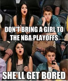Not with Selena. Just explains my theory of JB acting like a girl all the time