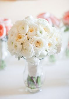 White bouquet