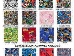 CUSTOM Comic Bedding Set — Crib, Toddler, Twin, Queen, King   Geek-a-bye Baby