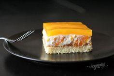 Smotanové rezy s mandarínkami | Bonviváni Cheesecake, Cooking Recipes, Pie, Treats, Candy, Cookies, Baking, Sweet, Food