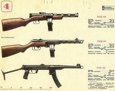 Soviet SMG's
