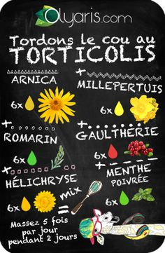 Twist the neck with torticollis! With Olyaris arnica vegetable oil redou Natural Beauty Tips, Diy Beauty, Beauty Games, Naturopathy, Doterra Oils, Diet And Nutrition, Arnica, Healthy Tips, Natural Health