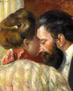bofransson:  Pierre-Auguste Renoir (1841-1919) Confidence