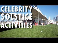 ▶ Celebrity Solstice Review & Tour: Activities ~ Celebrity Cruises ~ Cruise Ship Review & Tour – PopularCruising.com
