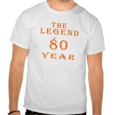 ==>Discount          The Legend 80 Year Tshirts           The Legend 80 Year Tshirts Yes I can say you are on right site we just collected best shopping store that haveDeals          The Legend 80 Year Tshirts today easy to Shops & Purchase Online - transferred directly secure and trusted c...Cleck Hot Deals >>> http://www.zazzle.com/the_legend_80_year_tshirts-235969224213358788?rf=238627982471231924&zbar=1&tc=terrest
