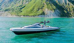 Nautica - Anvera, il crossoverboat disegnato dal designer dei caschi di Valentino Rossi