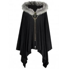 SHARE & Get it FREE | Faux Fur Panel Plus Size Cape CoatFor Fashion Lovers only:80,000+ Items·FREE SHIPPING Join Dresslily: Get YOUR $50 NOW!