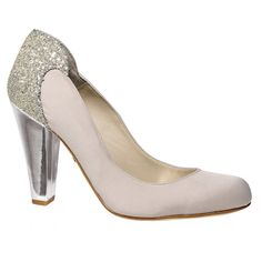 Love Art Wear Art Lara Nude - Wedding Shoes - Crystal Bridal Accessories