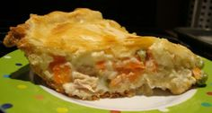 TURKEY POT PIE | Somebody's Mom: Home Cooking Recipes and Cookies for our Troops