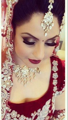 Beautiful indian/pakistani bridal makeup
