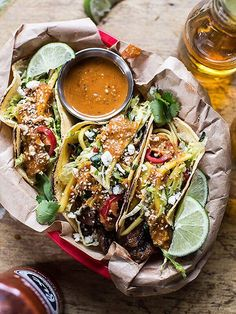 Going on the taco cleanse or simply obsessed with tacos? These foolproof recipes are for you