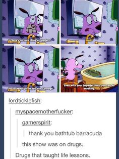 I wasn't allowed to watch this show when I was little because my mom thought it was satanic