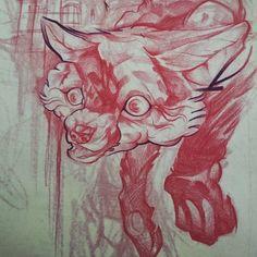 Uncl Paul @uncl_paul Fox sketch for to...Instagram photo | Websta (Webstagram)