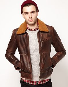 Lee 101 Jacket antique leather flight