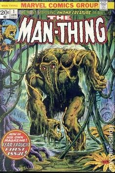 THE MAN-THING 1, BRONZE AGE MARVEL COMICS
