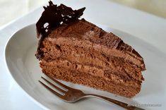 Tort de ciocolata reteta clasica de pe vremuri cu crema de ciocolata cu unt si blat cu ciocolata. Cum se face un decor dantela de ciocolata Carne, Banana Bread, Unt, Sweets, Cookies, Desserts, Pork, Sweet Pastries, Tailgate Desserts