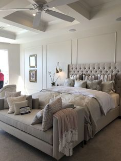 Top 7 Master Bedroom Ideas (Amazing Tips and Inspiration). What The In Crowd Won't Tell You About Modern Master Bedroom Luxury Beautiful Get inspired by these master bedroom ideas below to help you in decorating the most comfortable personal space. Modern Master Bedroom, Master Bedroom Design, Contemporary Bedroom, Warm Bedroom, Bedroom Designs, Contemporary Furniture, Master Suite, Modern Contemporary, Bedroom Apartment
