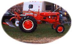 1950 Allis Chalmers B - Dolores' Old Tractors Women and Tractors Antique Tractors