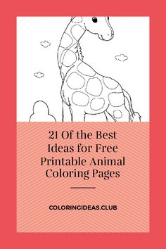 21 Of the Best Ideas for Free Printable Animal Coloring Pages .Coloring pages the simplest method to calm your kid. While your child is busy by coloring illustrations you can … Farm Animal Coloring Pages, Preschool Coloring Pages, Free Printable Coloring Pages, Coloring Pages For Kids, Coloring Books, Free Printables, Thanksgiving Coloring Pages, Christmas Coloring Pages, Jaguar Animal