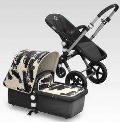 Warhol meets Bugaboo with the Cars print. Wow.