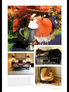 Second page of our feature in Decor Magazine Issue 4. Heritage and Elegance.