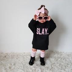 Slaying Girl   @_tazbabez_  Follow us   kids fashion   #lifestyleblogger #babyblogger #girlboss #slay #promote #instadaily #wespeakfashion #handmadefashion #bebold #instastyle #writersofinstagram #shopsmall #instago #mompreneur #instabossmob #goodvibes #tweegram #photooftheday #instalike #instadaily #instafollow #instagood #instasize #cybercorner #bestoftheday #instacool #all_shots #follow #webstagram