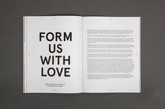 spread from MADE magazine – Issue #1 / by Hunt Studio