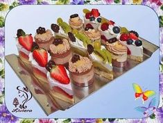 Torty Liviera - Recepty Mini Cheesecakes, Cake Shop, Party Snacks, Mini Cakes, Catering, Food And Drink, Ice Cream, Cooking Recipes, Sweets