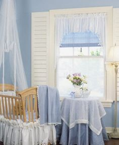 Like the idea of shutters inside the window and the shade/valance combination.