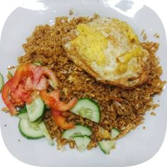 White rice in English Fried Rice Recipe special fried rice recipe for roadside fried rice seasoning fried rice recipe Fried Rice Recipe rice is food fried rice recipe paste fried rice recipe Special Fried Rice Recipe, Best Rice Recipe, Recipe Recipe, Mie Goreng, Nasi Goreng, Fried Rice Calories, Halal Recipes, Healthy Recipes, Fried Rice Seasoning