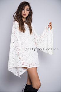 Vestidos blancos cortos para el invierno 2015
