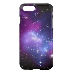 Purple Galaxy Cluster iPhone 7 Plus Case