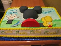 mickey mouse clubhouse sheet cake - Yahoo Search Results Yahoo Image Search Results
