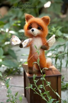 """""""Живое тепло"""" - авторские игрушки валянием из шерсти Анны Рыбальченко / Мягкие авторские игрушки своими руками, фото / Бэйбики. Куклы фото. Одежда для кукол"""