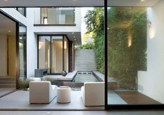Contemporary Home Design in Manhattan Beach - three-story home with an elevator   Modern House Designs