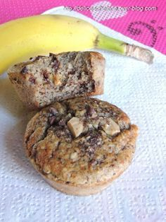 Ideas for cupcakes vegan banana bread Muffins Sains, Cas, Diabetes, Gluten Free Recipes, Healthy Recipes, Vegan Banana Bread, Vegan Bread, Ww Desserts, Cupcakes