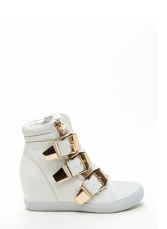High Top Wedges, Studded Wedge Sneakers, Canvas Shoes & More