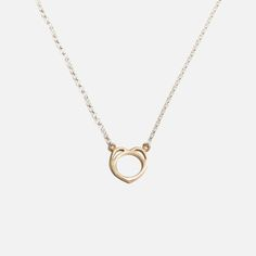 Bennt - Heart Necklace Everyday Necklace, Rose Gold Plates, Handmade Jewelry, Gold Necklace, Pairs, Sterling Silver, Chain, Pendant, Heart