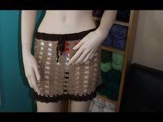 Crochet Cubre Traje De Baño - YouTube