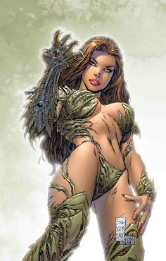 By Marc Silvestri -- Cracking artist  http://www.marcsilvestriart.com/home.html