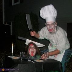 Head on a Platter Costume - Halloween Costume Contest via @costumeworks