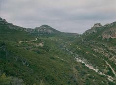 Barranco de la Hoz (Sierra de Enguera)
